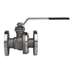 Flanged 2 Way Ball Valve