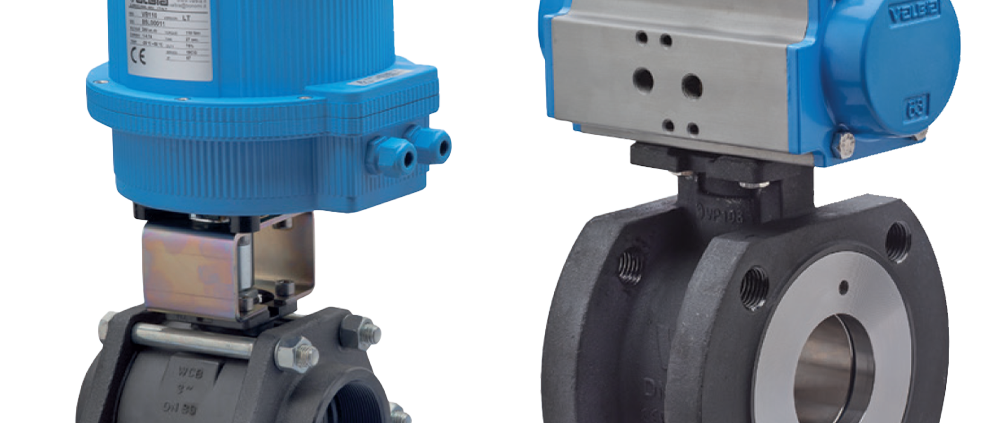 Pneumatic and Electric Actuated Ball Valve