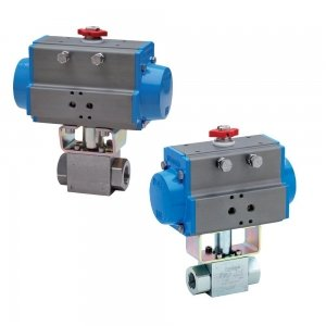 Actuated High Pressure Ball Valves