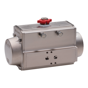 Nickel Plated Aluiminium Pneumatic Actuators