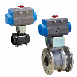 2 Way Actuated Ball Valves
