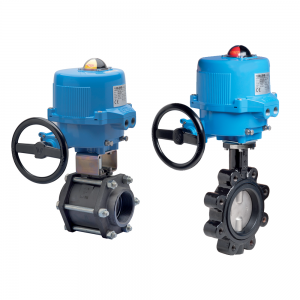 Series 86 Aluminium Electrically Actuated Valves