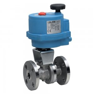 2 Way Electrically Actuated Ball Valves