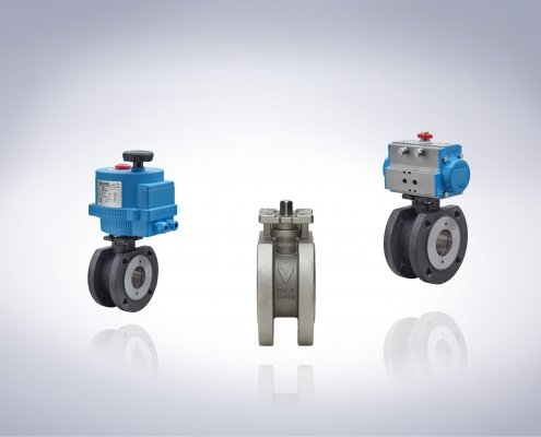 New Direct Mount Industrial Wafer Ball Valve Packages from Bonomi UK